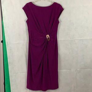 AK Anne Klein size 6 purple dress